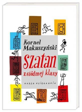 Szatan z siódmej klasy - okładka podręcznika