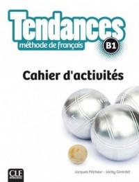 Tendances B1. Ćwiczenia - okładka podręcznika