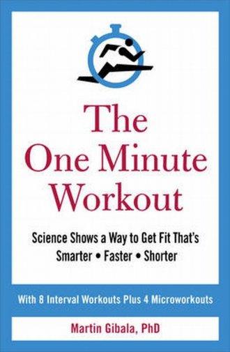 The One Minute Workout - okładka książki