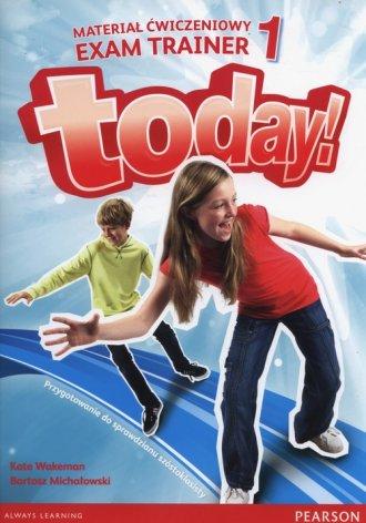 Today 1. Szkoła podstawowa. Materiał - okładka podręcznika