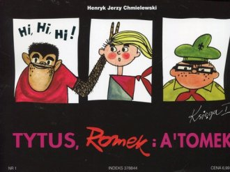 Tytus, Romek i Atomek. Księga I. - okładka książki