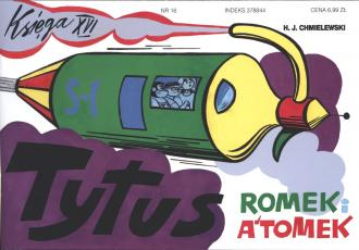 Tytus Romek i Atomek. Księga 16. - okładka książki