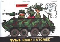 Tytus Romek i Atomek. Księga 4. Tytus żołnierzem - okładka książki