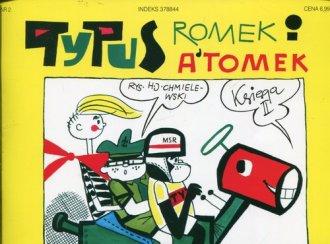 Tytus, Romek i Atomek Księga II. - okładka książki