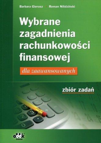 Wybrane zagadnienia rachunkowości - okładka książki