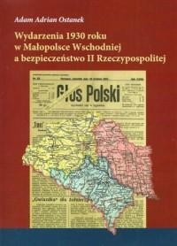 Wydarzenia 1930 roku w Małopolsce - okładka książki