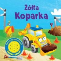 Żółta Koparka - Wydawnictwo - okładka książki