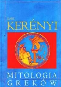 Mitologia Greków - okładka książki
