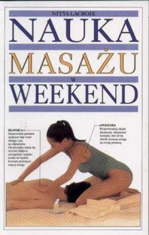 Nauka masażu w weekend - okładka książki