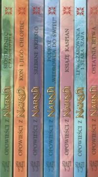 Opowieści z Narnii. Tom 1-7 - C.S. - okładka książki