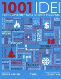 1001, idei które zmieniły nasz - okładka książki