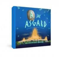 A jak Asgard. Abecadło mitologii nordyckiej - okładka książki