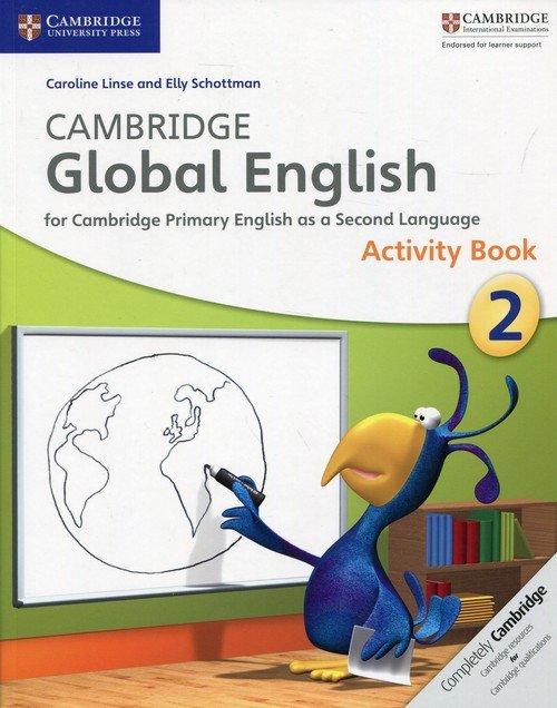 Cambridge Global English 2 Activity - okładka podręcznika