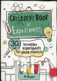 Childrens Book of Experiments. 4-9 years - okładka książki