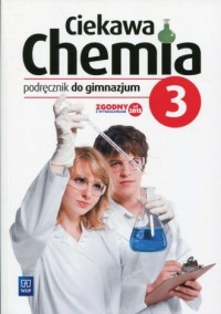 Ciekawa chemia 3. Gimnazjum. Podręcznik - okładka podręcznika