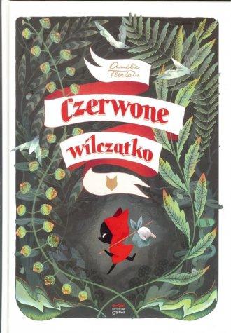 Czerwone wilczątko - okładka książki