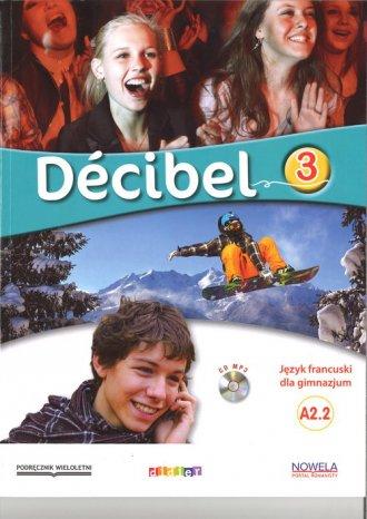 Decibel 3. Podręcznik - okładka podręcznika