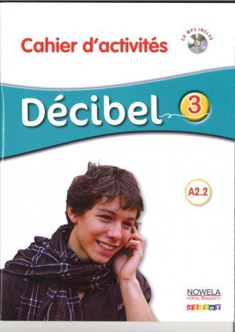 Decibel 3 PW. Zeszyt ćwiczeń - okładka podręcznika