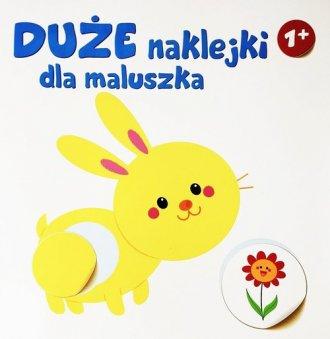 Duże naklejki dla maluszka KRÓLIK - okładka książki