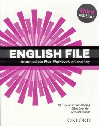 English File Intermediate Plus - okładka podręcznika