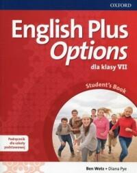 English Plus Options 7. Szkoła podstawowa. Podręcznik z płytą CD - okładka podręcznika