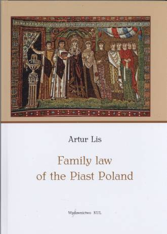 Family Law of the Piast Poland - okładka książki