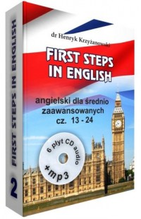 First Steps in English 2 +6CD+MP3. Angielski dla średnio zaawansowanych - pudełko audiobooku