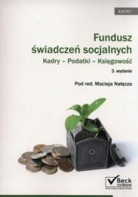 Fundusz świadczeń socjalnych. Kadry - okładka książki