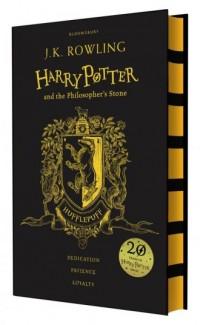 Harry Potter and the Philosophers Stone Hufflepuff - okładka książki