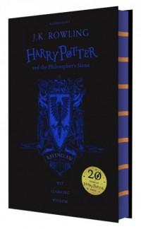 Harry Potter and the Philosophers Stone Ravenclaw - okładka książki