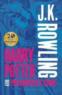 Harry Potter and the Philosophers Stone - okładka książki