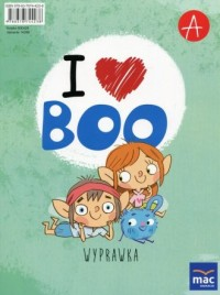 I love Boo Język angielski Poziom A Wyprawka. Przedszkole - okładka podręcznika