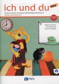 ich und du neu 1 Zeszyt ćwiczeń - okładka podręcznika