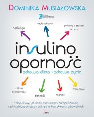 Insulinooporność. Zdrowa dieta - okładka książki