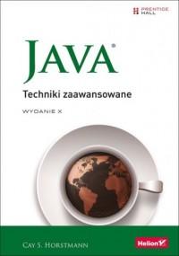 Java Techniki zaawansowane - Cay - okładka książki