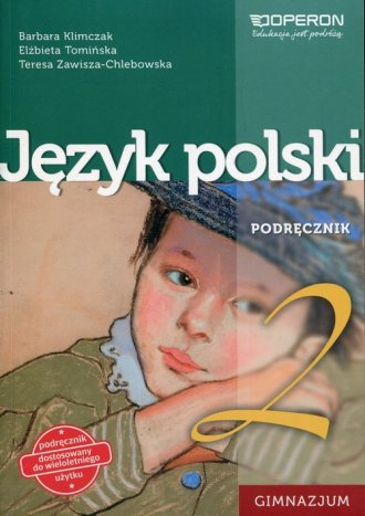 Język polski 2. Gimnazjum. Podręcznik - okładka podręcznika