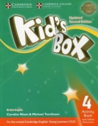 Kids Box 4 Activity Book with Online Resources - okładka podręcznika