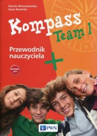 Kompass Team 1. Przewodnik nauczyciela 7-8. Szkoła podstawowa - okładka podręcznika