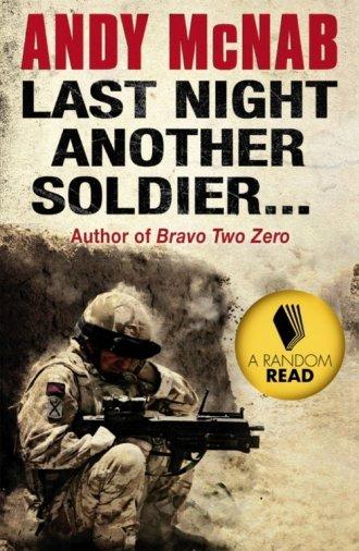 Last Night Another Soldier - okładka książki