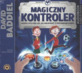 Magiczny Kontroler - pudełko audiobooku