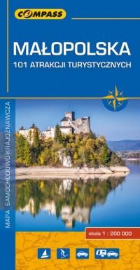 Małopolska - 101 atrakcji turystycznych - okładka książki
