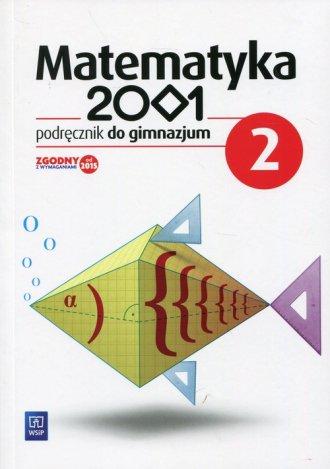 Matematyka 2001 2. Gimnazjum. Podręcznik - okładka podręcznika