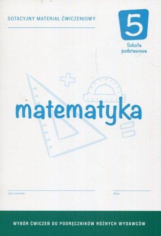 Matematyka 5. Szkoła podstawowa. - okładka podręcznika