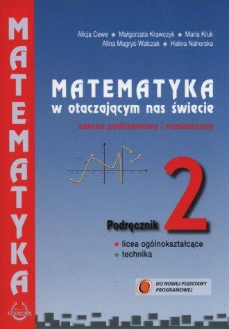 Matematyka w otaczającym nas świecie - okładka podręcznika
