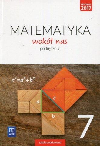 Matematyka wokół nas 7. Podręcznik. - okładka podręcznika