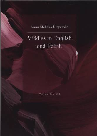 Middles in English and Polish - okładka książki