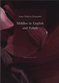 Middles in English and Polish - - okładka książki