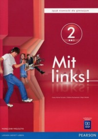 Mit links! 2. Gimnazjum. Język niemiecki. Podręcznik - okładka książki