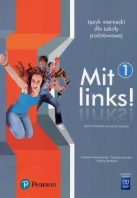 Mit links Język niemiecki 7. Szkoła - okładka podręcznika