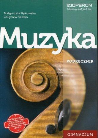 Muzyka. Gimnazjum. Podręcznik wieloletni - okładka podręcznika